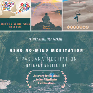 Trinity Meditation Package - Online Session @ Zoom