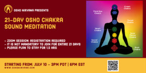 Chakra Sound Meditation - online session @ Zoom