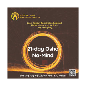 No-mind meditation - online zoom @ Zoom Live